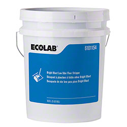Ecolab® Bright Blast Low Odor Floor Stripper - 5 Gal.