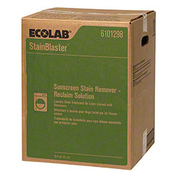 Ecolab® StainBlaster Sunscreen Stain Remover - 45 lb.