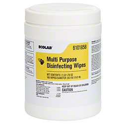 Ecolab{R} Multi Purpose Disinfecting Wipes