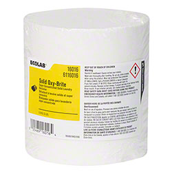 Ecolab® Solid Oxy-Brite Laundry Destainer - 3 lb.