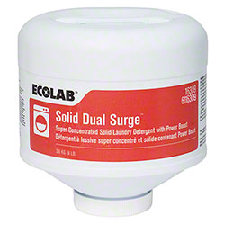 Ecolab® Solid Dual Surge Laundry Detergent w/Power Boost