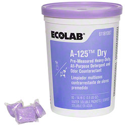 Ecolab® A-125 Dry Alkaline Cleaner/Odor Counteractant
