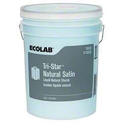 Ecolab® Tri-Star™ Natural Satin Starch - 5 Gal.