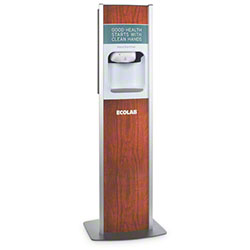 Ecolab® Sanitizer Stand w/Nexa Classic Touch Free Dispenser