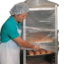 LK® High Density Bun Pan Rack Cover On A Roll - 52 x 80