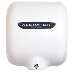 Excel Xlerator® Hand Dryer - White Epoxy, 110/120V