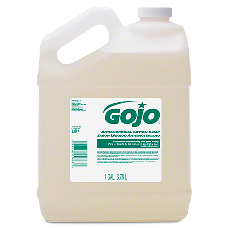 GOJO® Antimicrobial Lotion Soap - Pour Gal.