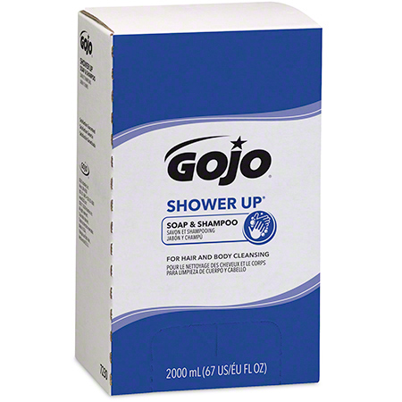 GOJO® Shower Up® Soap & Shampoo - 2000 mL