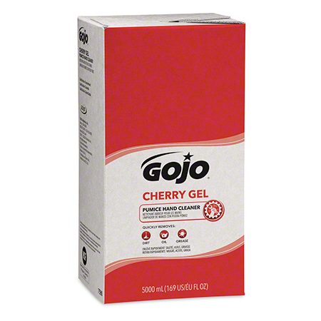 GOJO® Cherry Gel Pumice Hand Cleaner - 5000 mL