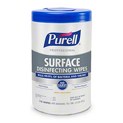 GOJO® Purell® Professional Surface Disinfecting Wipes - 110 ct. Canister