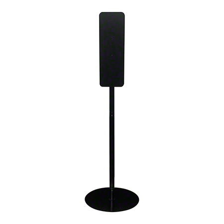 GP Pro™ Tall Metal Stand For Sanitizer Dispenser - Black