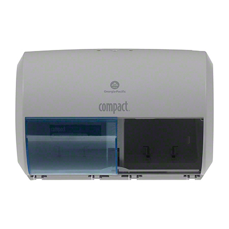 GP Pro™ Compact® Side-By-Side Double Roll Dispenser