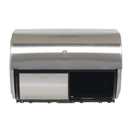 GP Pro™ Compact® ll Side-By-Side 2 Roll Dispenser