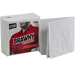 "GP Pro™ Brawny® P200 1/4-Fold Cleaning Towel -13"" x 13"""