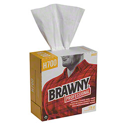 GP Pro™ Brawny® Professional H700 Cleaning Towel -White