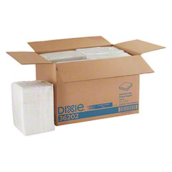 GP Pro™ Dixie® 1 Ply 1/4 Fold Dinner Napkin - White