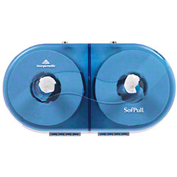 GP Pro™ SofPull® Twin Centerpull Tissue Dispenser -Blue