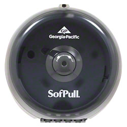 GP Pro™ SofPull® Mini Centerpull Tissue Dispenser-Smoke