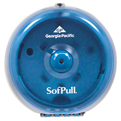 GP Pro™ SofPull® Mini Centerpull Tissue Dispenser -Blue