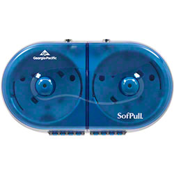 GP SofPull® Mini Twin Centerpull Tissue Dispenser - Blue