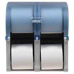 GP Pro™ Compact® Quad Coreless Tissue Dispenser - Blue