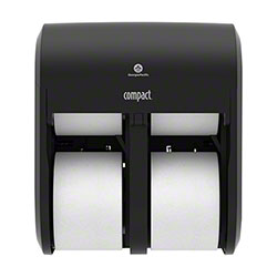 GP Pro™ Compact® Quad Coreless Tissue Dispenser - Black