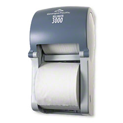 GP Executive 3000® Vertical 2 Roll Tissue Dispenser -Slate