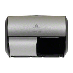 GP Pro™ Compact® Side-by-Side 2 Roll Tissue Dispenser