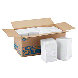 GP Pro™ Dixie® 1-Ply Beverage Napkin - White