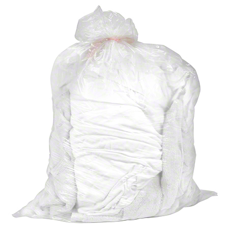 Heritage™ AquaRes™ Water Soluble Laundry Bag - 26 x 33, 0.80 mil, Clear