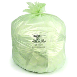 Heritage Bag BioTuf® Compostable Bag - 24 x 32, 0.88 mil