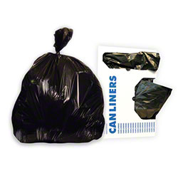 Heritage Bag Stock Trash Bag - 38x58, 1.3 mil, Black