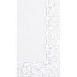 Hoffmaster® Regal Embossed Dinner Napkin - White