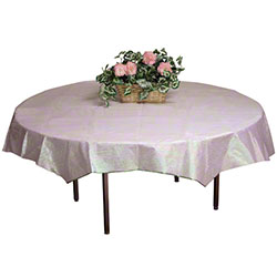 """Hoffmaster® OpalEssence® Tablecover - 82"""" Octy-Round®"""
