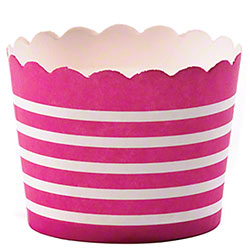 Hoffmaster® S!MPLY BAKED® Baking Cup - 3 oz., Fuchsia