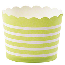 Hoffmaster® S!MPLY BAKED® Baking Cup - 3 oz., Lime
