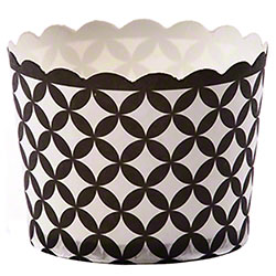 Hoffmaster® S!MPLY BAKED® Baking Cup -3oz, Black Diamond