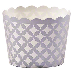 Hoffmaster® S!MPLY BAKED® Baking Cup -3oz,Silver Diamond