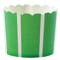 Hoffmaster® S!MPLY BAKED® Baking Cup-5 oz,Green Vertical