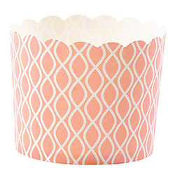 Hoffmaster® S!MPLY BAKED® Baking Cup - 5 oz.,Coral Wave