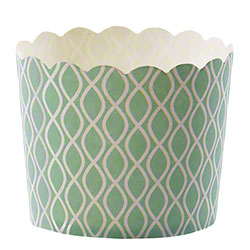 Hoffmaster® S!MPLY BAKED® Baking Cup - 5 oz.,Julep Wave