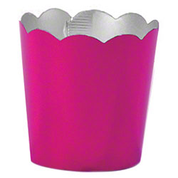 Hoffmaster® S!MPLY BAKED® Baking Cup-2oz,FuchsiaMetallic