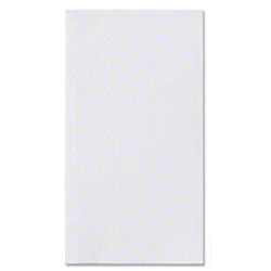 "Hoffmaster® White 2 Ply Guest Towel - 13"" x 17"""