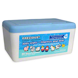 HOSPECO® Precious® Baby Wipes - 80 ct. Unscented