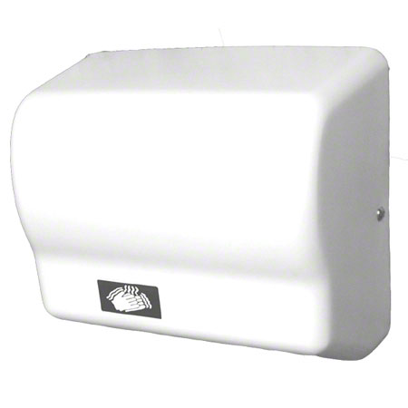 Impact® Touchless Hand Dryer - White ABS