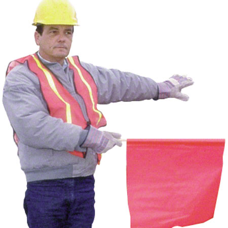 Impact® Orange Non-Reflective Safety Vest