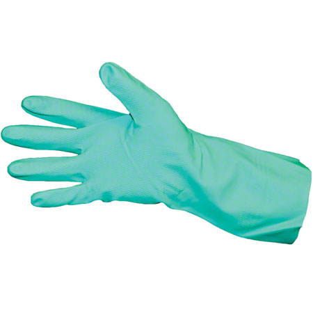 Impact® Flock Lined Nitrile Glove - Large