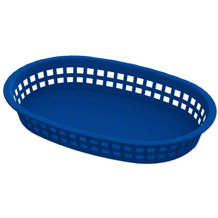 Impact® Round End Rectangle Food Basket - Yellow