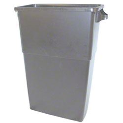 Impact® 23 Gal. Thin Bin™ Gray Container