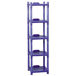 Impact® 5-Shelf Stack Rack Storage & Dispensing Shelves